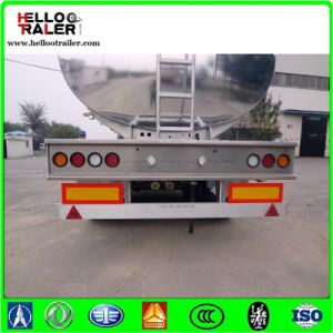 50000 Liters Aluminum Alloy Fuel Crude Oil Tanker Trailers pictures & photos
