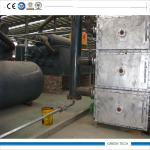 40ton Pyrolysis Plant for Used Tire Recycling Countinuously pictures & photos
