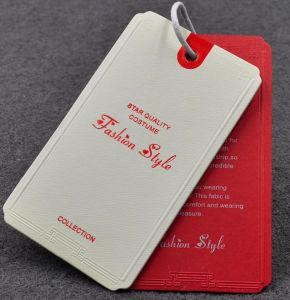 Printed Hangtag, Price Tag and Brown Kraft Hang Tags for Clothing pictures & photos