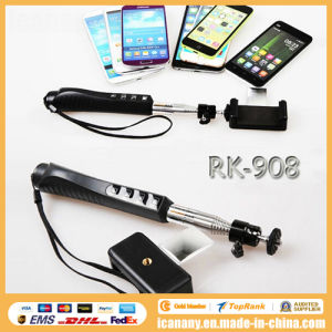 New Arrival Wireless Bluetooth Mirror Monopod with Zoom (RK-908) pictures & photos
