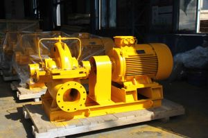 Horizontal Split Casing Double Suction Double Stage Pump (SLOW500) pictures & photos
