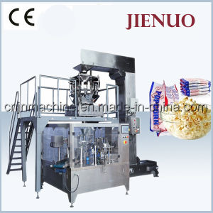 Jienuo Automatic Microwave Popcorn Packing Machine (GD6-200) pictures & photos