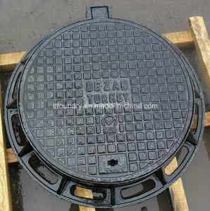 Medium Duty Round Shape Ductile Iron Manhole Covers pictures & photos