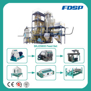 Modular Structre 2tph Livestock Feed Pellet Processing Line pictures & photos