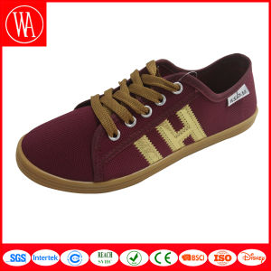 Flat Comfort Canvas Men Shoes Made in China Factory