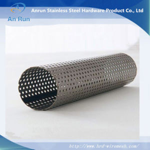 Straight Lock Seam Welded Tubes Made of Perforated Sheet pictures & photos