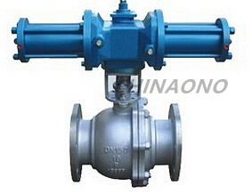 API Stainless Steel Hydraulic Flange Type Trunnion Ball Valve pictures & photos