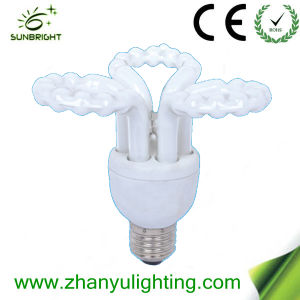 20W Hot Sale Flower Shape CFL (ZYFB01) pictures & photos