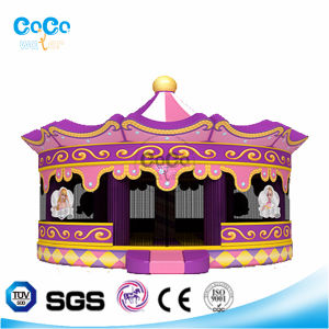 Cocowater Design Inflatable Crown Theme Bouncer LG9019 pictures & photos