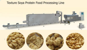 Best Automaitc High Fiber Soya Meat Making Machine pictures & photos