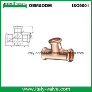 Copper Equal Press Tee for Heating System (AV8053) pictures & photos