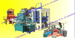 Qt4-20 Hydraulic Automatic Concrete Cement Block Brick Forming Making Machine pictures & photos