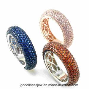 2015 Guangzhou Fashion CZ 925 Silver Ring Wholesale A2r001W3-4 pictures & photos