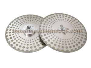 7′′ Electroplated Cutting&Grinding Disc Diamond Saw Blade pictures & photos