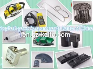 High Quality Road Construction Asphalt Paver Spare Wear Parts with Foundry Price pictures & photos