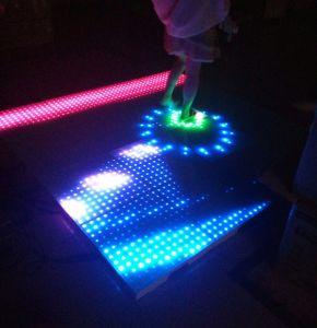Portable 50X50cm DMX Waterproof Lighting Interactive Stage LED Starlit Dance Floor pictures & photos