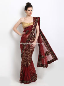 Embroidered Fashion Saree (3800)