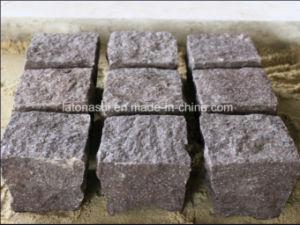 Red Natural Granite Pavement Stone/Cobblestones pictures & photos