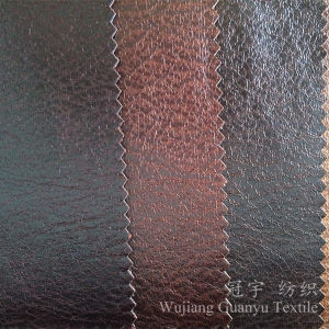 Home Textile Polyester Suede Leather for Sofa Covers Decoration pictures & photos