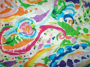 Printing Organza Silk Satin Fabric pictures & photos