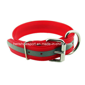 Reflective Roller Buckle Dog Collar