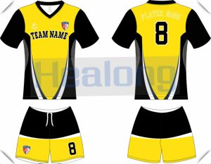 Customized New Style Breathable and Quick-Dry Soccer Uniform pictures & photos