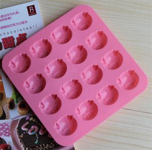 Custom Food Grade Silicone Ice Cube Tray pictures & photos