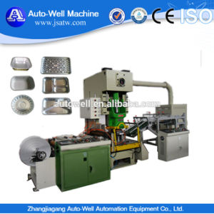 Aluminum Foil Meal Box Making Machine Packaging pictures & photos