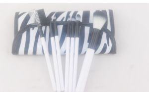 7PCS Stripe Makup Brush Set Ly-G048
