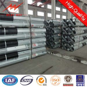 9m and 11m 500dan Steel Pole with Bitumen pictures & photos