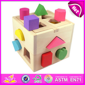 2015 Shape Intelligence Box Block Box Toy for Kids, Colorful Block Box Toy for Children, Hot Sale Block Box Toy for Baby W12D011 Factory pictures & photos
