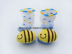 Baby / Infant 3D Animal Head Cotton Socks pictures & photos
