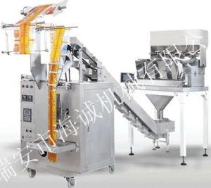 Fried Chip Snack Food Packaging Machine (DXD-400E) pictures & photos