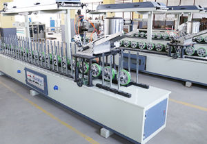 Wood Profile Wrapping PVC and Veneer Roller Press Machine pictures & photos