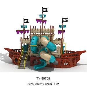 Themed Pirate Kids Outdoor Playground for Sale pictures & photos