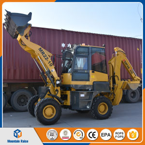 Weifang Mini Excavator Loader 1200kg Hydraulic Small Backhoe Loader pictures & photos