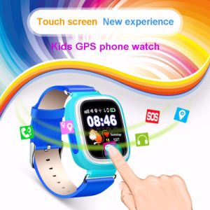 Touch Screen Kids GPS Tracker Positioning Smart Watch Q90 Sos for Ios Android Lost Monitor pictures & photos