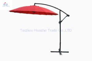 10ft Fiber Glass Parasol with Crank-Garden Parasol Banana Umbrella Outdoor Umbrella Garden Umbrella pictures & photos