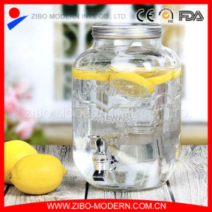 Hot Sales Metal Cap Glass Water Dispenser pictures & photos