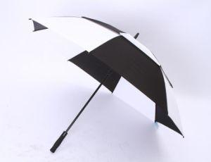 Auto Open Double Layer Promotion Golf Umbrella (LGUZ14012)