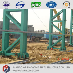 Latice Section Column Prefabricated Steel Structure Workshop pictures & photos