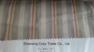 New Popular Project Stripe Organza Voile Sheer Curtain Fabric 0082117 pictures & photos