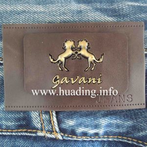 Good Quality Fabric Leather Patch for Decoration (PA-02) pictures & photos