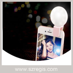 Beauty Self-Timer, Round Fill Light for Mobile Phones pictures & photos