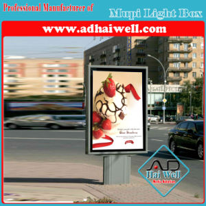 Street Free Standing Aluminum Scrolling LED Light Box pictures & photos