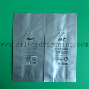 Silver Color Coffee Packing Bag with Food-Grade pictures & photos