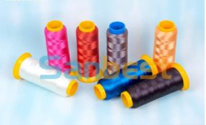 100% Polyester Embroidery Thread with Excellent Luster pictures & photos
