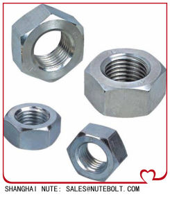 Stainless Steel Hex Nuts DIN934 pictures & photos