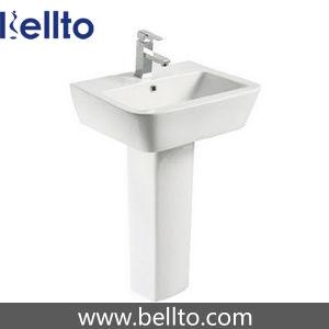 Bathroom Ceramic Pedestal Sink for Lavatory (619) pictures & photos