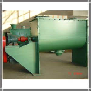 Horizontal Double Ribbon Type Industrial Chemical Mixer for Detergent Powder pictures & photos